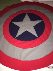 Captain America Shield Finished