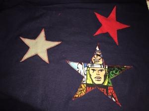 Marvel Stars sewed