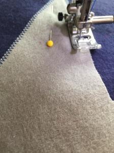 Captain America Star stitching