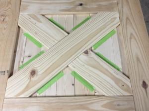 Barn Door baby gate construction (3)