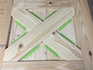Barn Door baby gate construction (3)