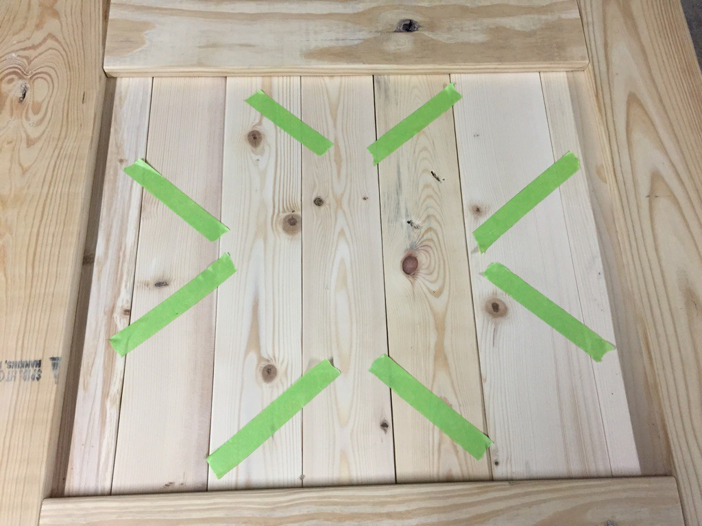 Diy Reclaimed Wood Barn Door Baby Gate Rockin The Dots