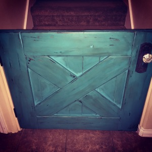 Barn Door Baby Gate DIY