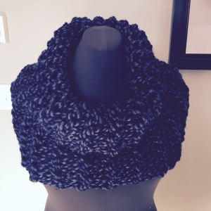 Denim Outlander Cowl