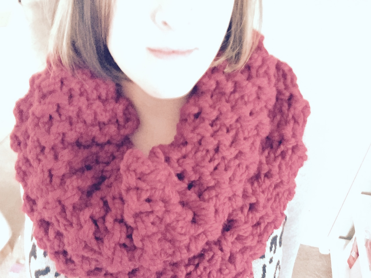 Outlander Inspired Knitted Cowl   Rockin the Dots