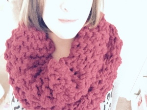 Claret Outlander Cowl on
