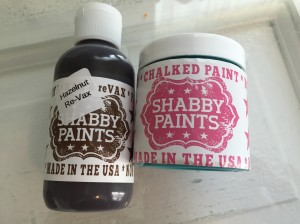 Shabby Paint Jewel and Hazelnut reVax